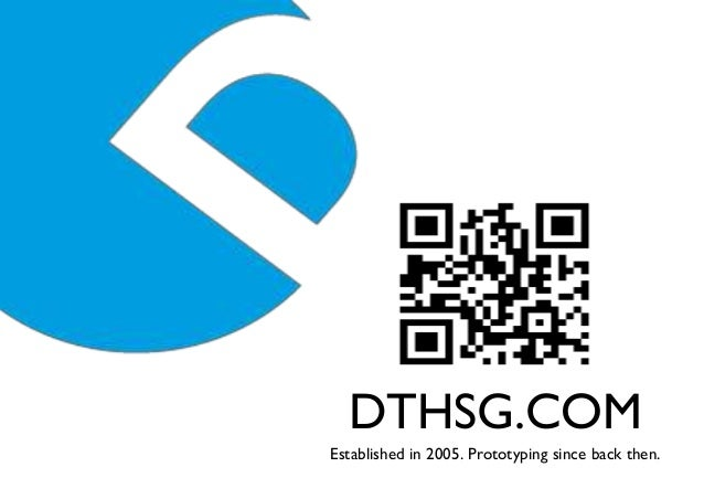 DTHSG.COMEstablished in 2005. Prototyping since back then.