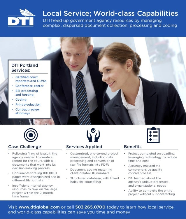 DTI Newsletter Advertisement
