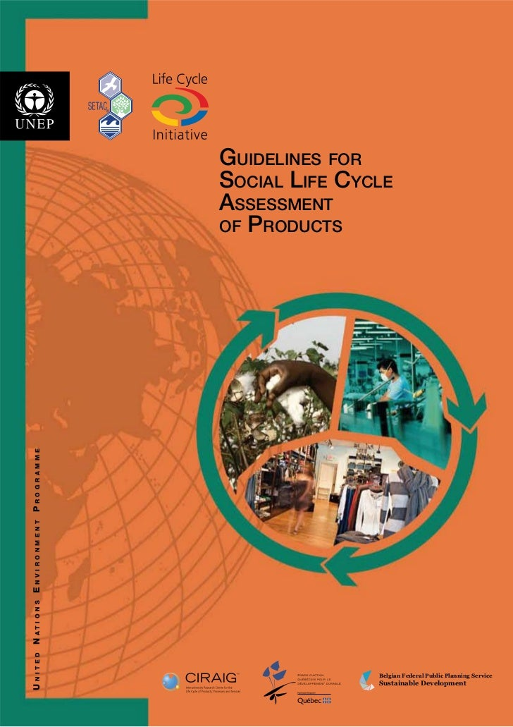 GUIDELINES FOR                                       SOCIAL LIFE CYCLE                                       ASSESSMENT   ...