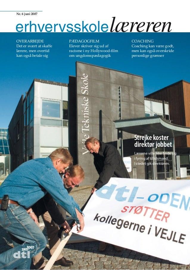 Dansk Coaching Institut - Erhversskole Bladet-2007