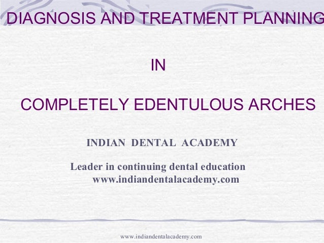 diagnosis and treatment planning / latest in dentistry