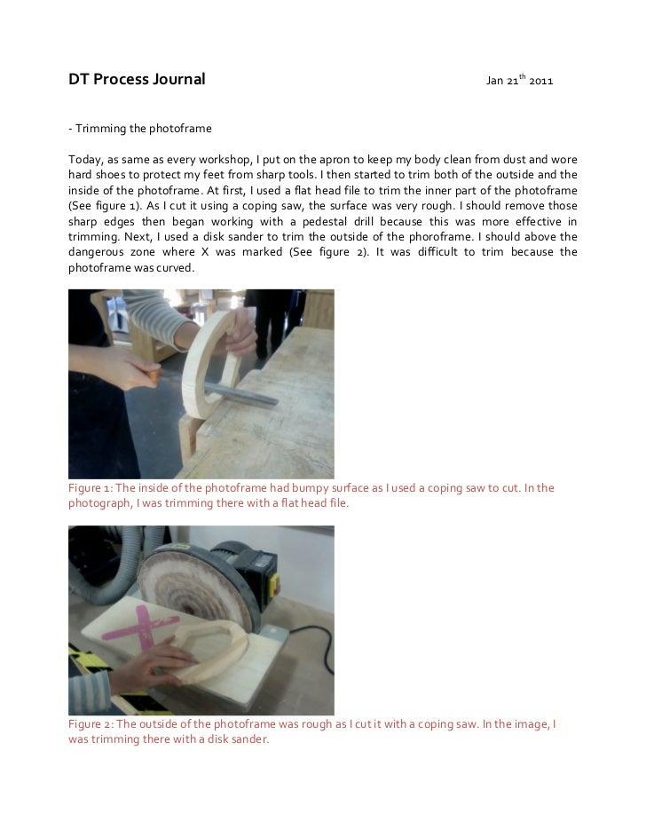 DT Process Journal                                                                                    ...