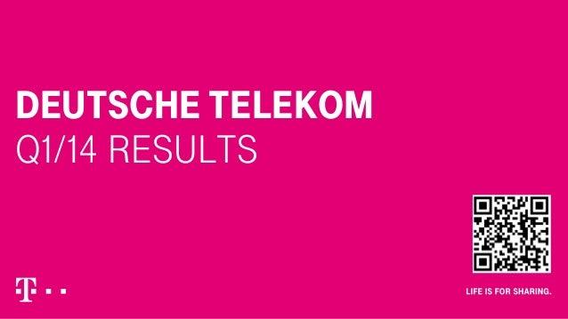 Deutsche Telekom Q1/14 Results