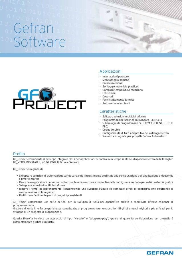 Gefran Gf Project Brochure