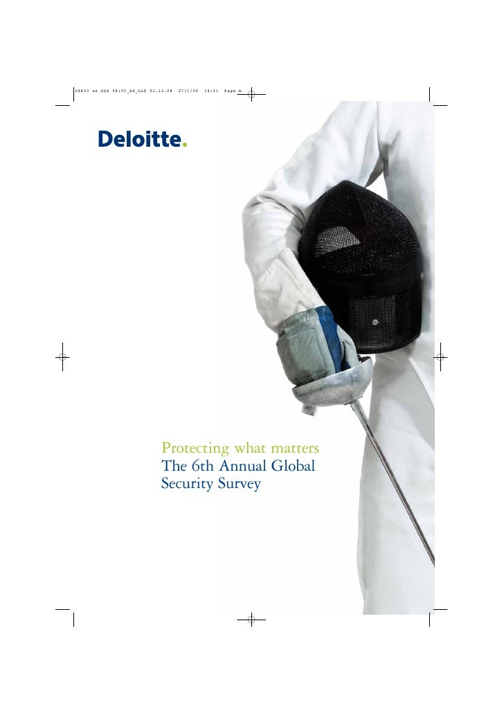 Protecting what matters The 6th Annual Global Security Survey