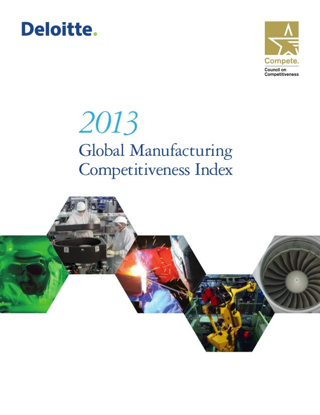 2013 Global Manufacturing Competitiveness Index