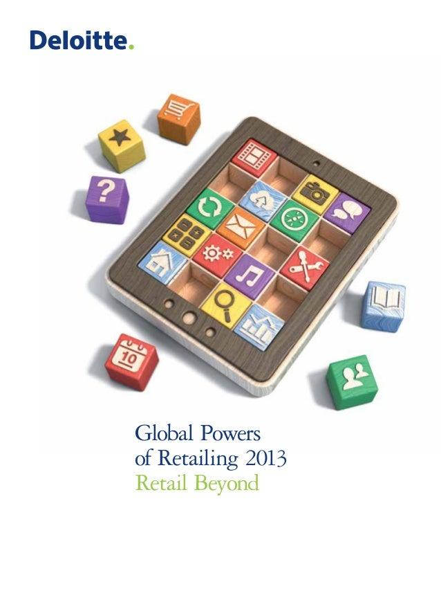 Global Powers of Retailing 2013 Retail Beyond