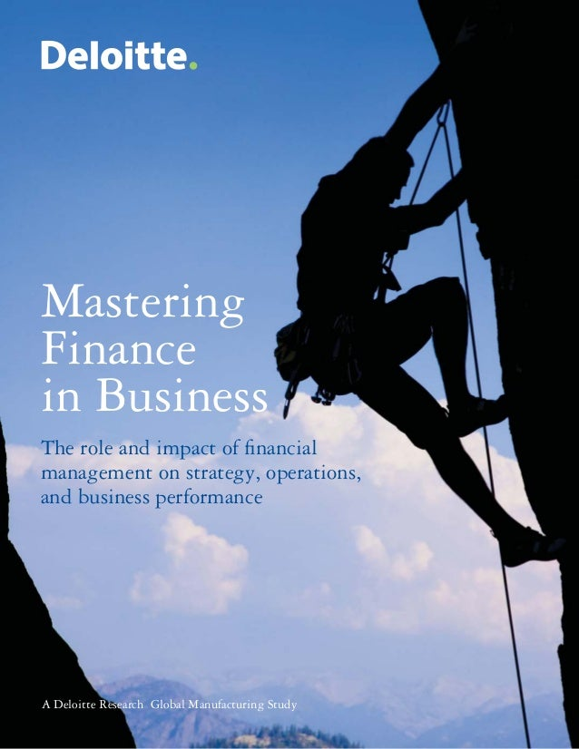 Mastering Finance in Business