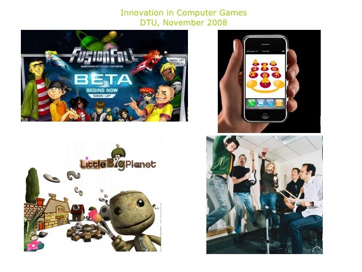 Innovation in Computer Games