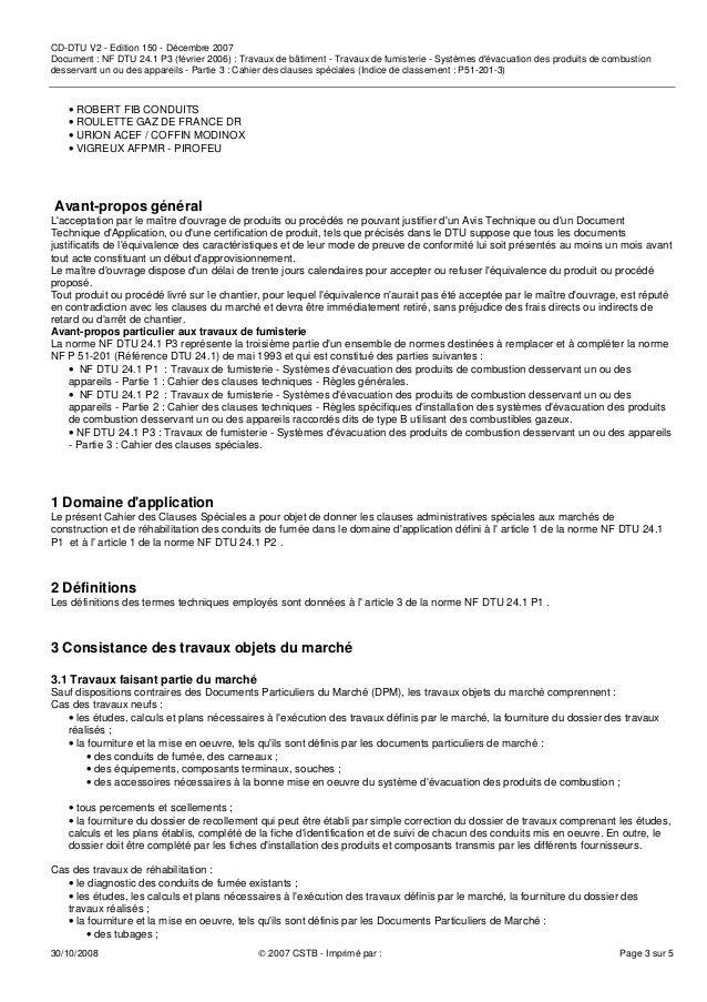 DTU 2 : Travaux de fumisterie - Article - Mon Chauffage