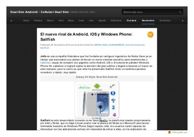 Dual Sim Android - Cellulari Dual Sim Cellulare Dual Sim, Dual ...                                     Buscar algo aquí......