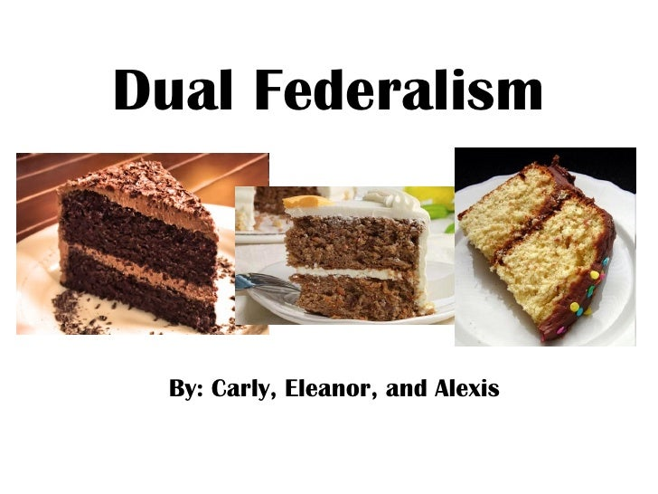 Dual Federalism By: Carly, Eleanor, and Alexis