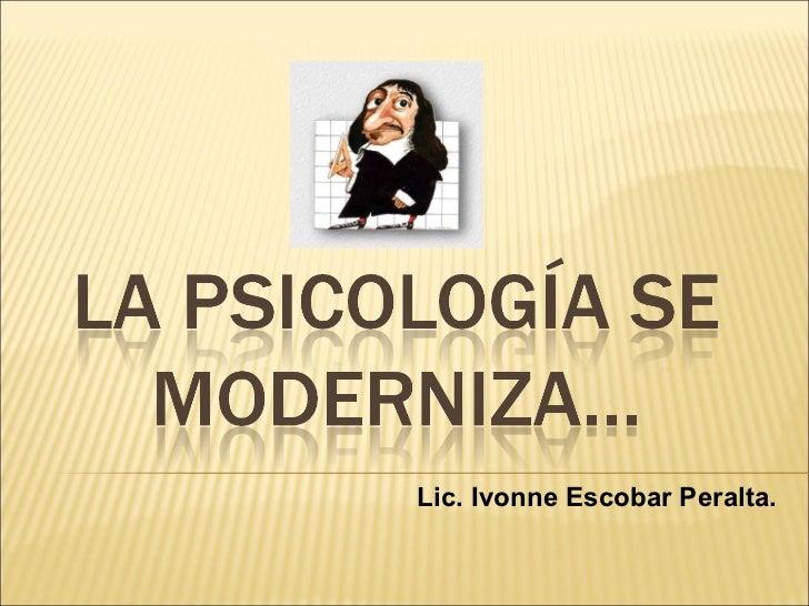 Lic. Ivonne Escobar Peralta.