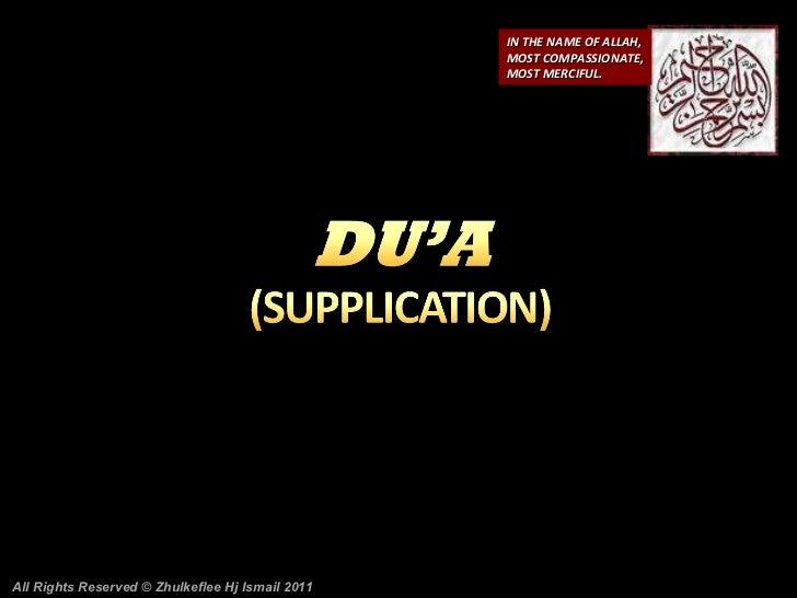 Du'a(sha'ban)