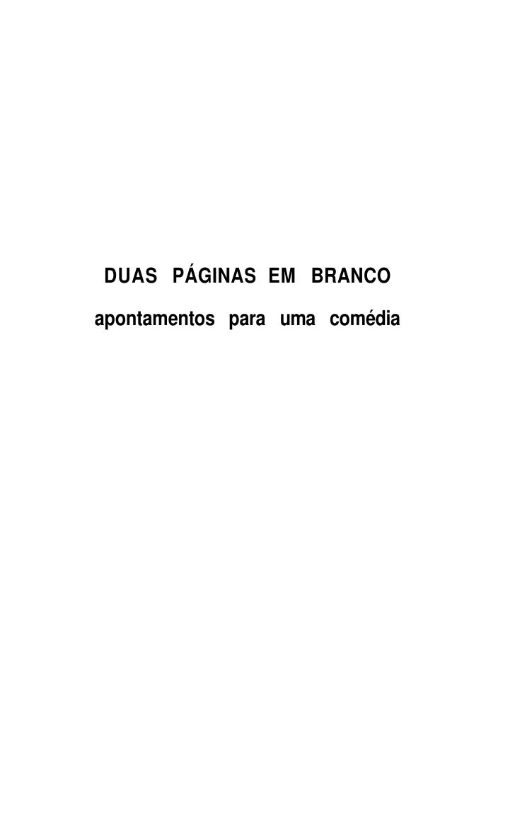 Duas páginas em branco