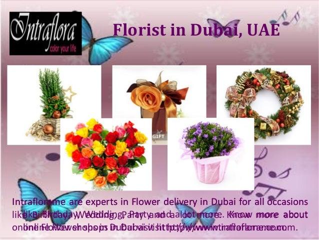 Online floral shops