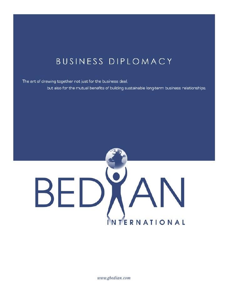 BEDIAN INTERNATIONAL