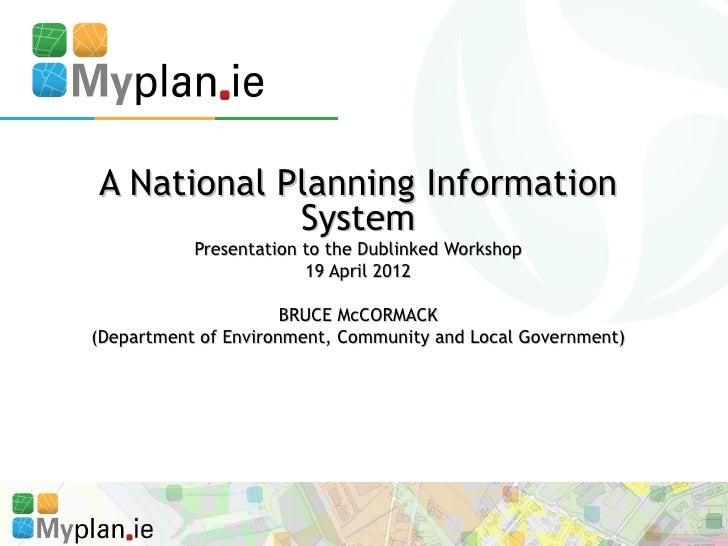 Dublinked workshop 19 april 2012