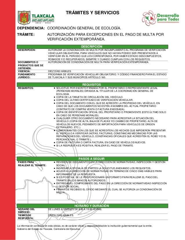 Pago De Verificacion Extemporanea En El Estado De Mexico | hnczcyw.com