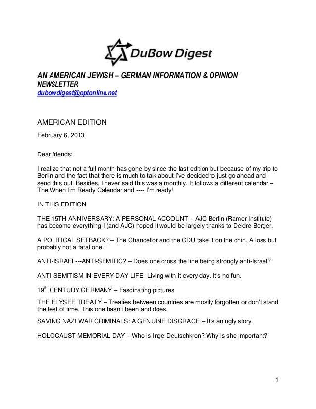 Du bow digest american edition february 18, 2013