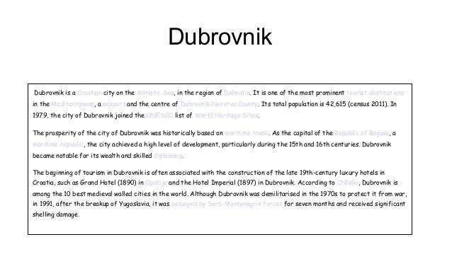 Dubrovnik Victor Fuster 1E