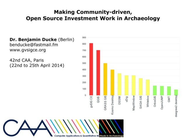 CAA2014 Community Archaeology and Technology: Making community-driven, open source investment work in archaeology