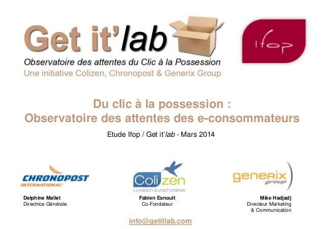 Delphine Mallet Directrice Générale Fabien Esnoult Co-Fondateur Mike Hadjadj Directeur Marketing & Communication info@geti...
