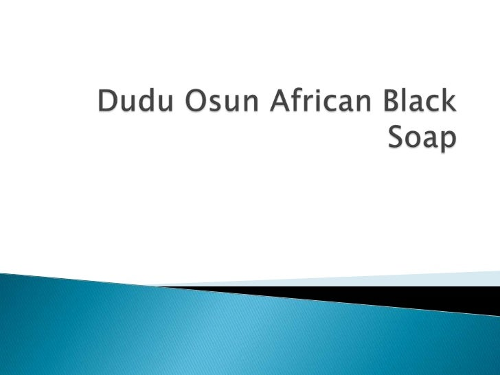 DuduOsun African Black Soap<br />