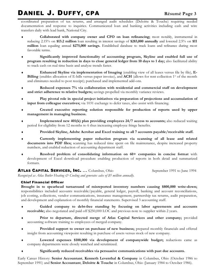 Sample Resume For OJT Sample Customer Service Resume Sample Resume  Accountant Philippines Staff Accountant Job Description  Cpa Resume
