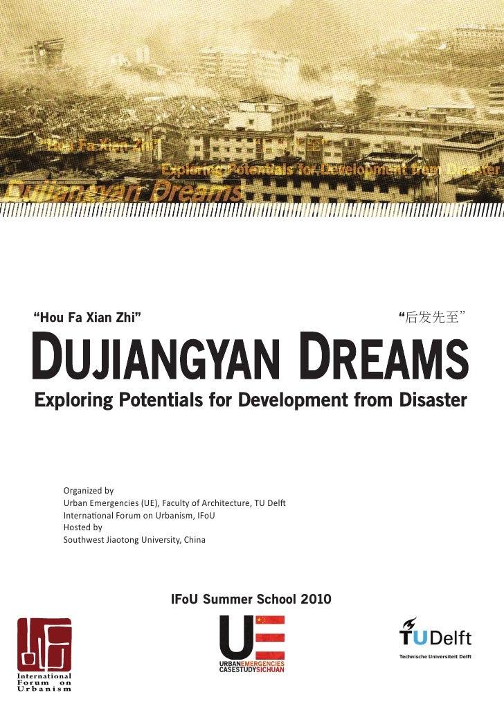 Dujiangyan dreams workshop outline