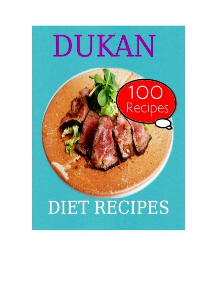 Dukan Diet Recipes: 100 Recipes