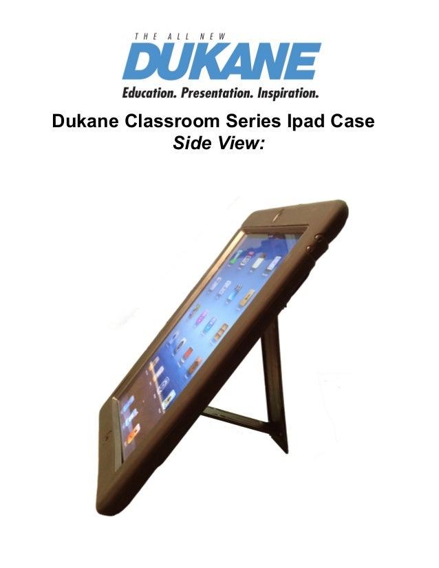 Dukane classroom series ipad case 2013