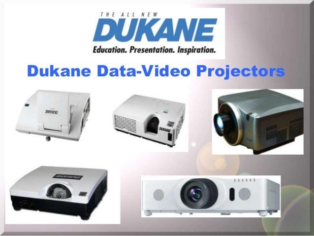 Dukane data video projectors 2013