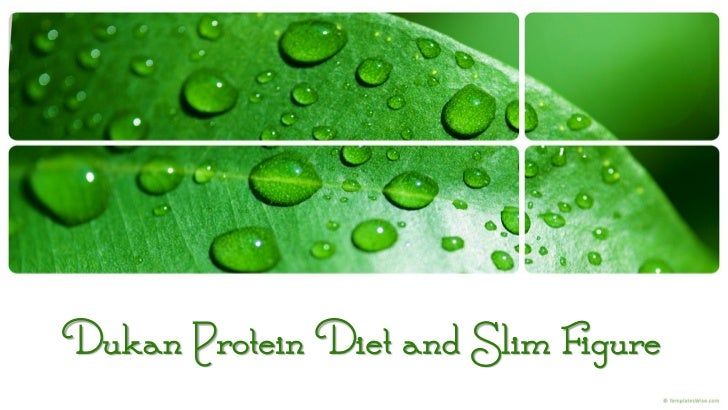 Dukan Protein Diet and Slim Figure