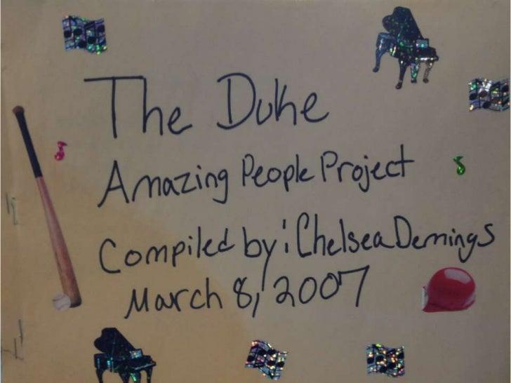 Duke #1 9