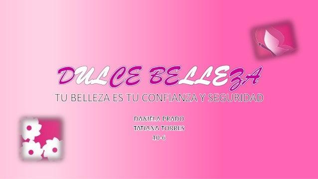 El objetivo de esta empresa de belleza, es poner a su servicio todas nuestras habilidades para lograr que la mujer se sien...