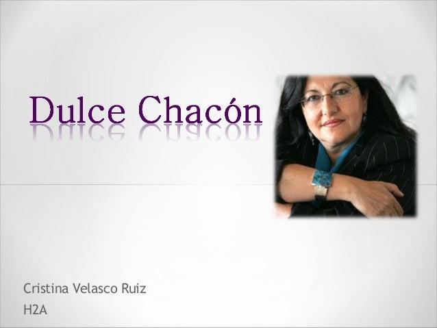 Cristina Velasco Ruiz H2A