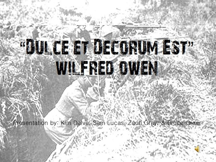 speech wilfred owen
