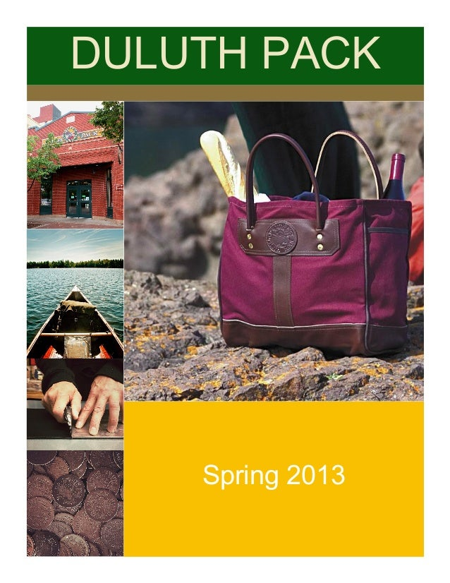 Duluth Pack Consulting Project