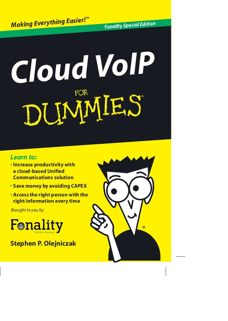 Cloud VoIP For Dummies