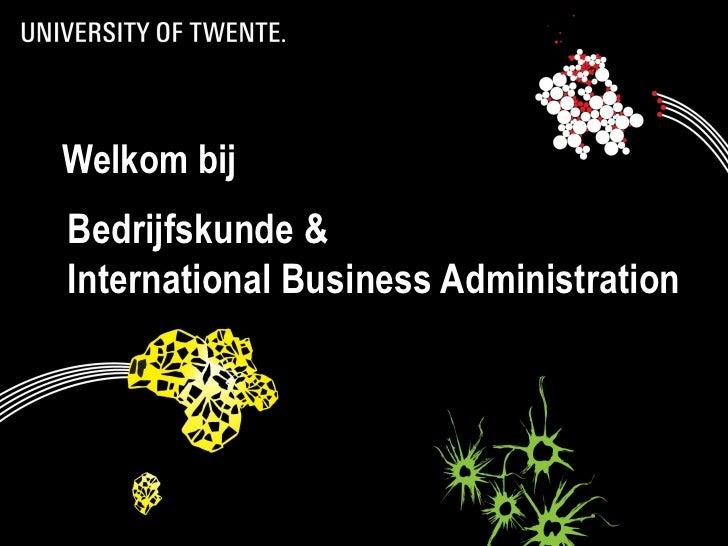 International Business Administration