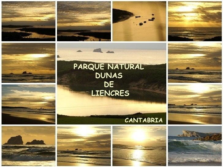 PARQUE NATURAL DUNAS  DE LIENCRES CANTABRIA