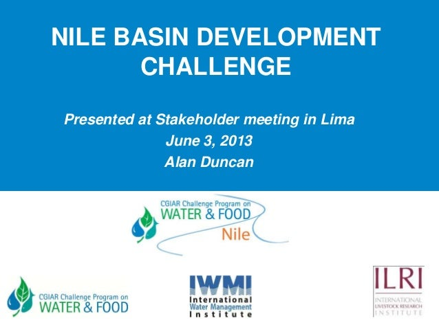 Nile Basin development challenge