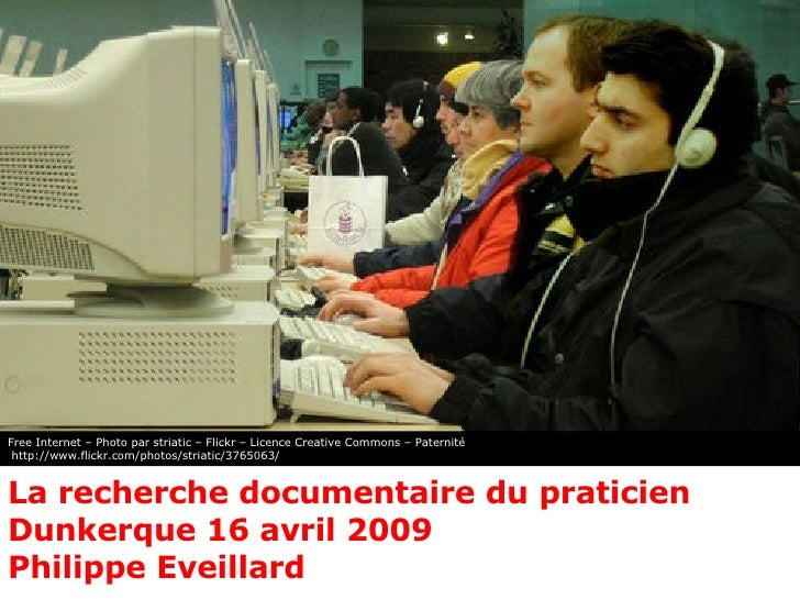 Recherche documentaire du praticien