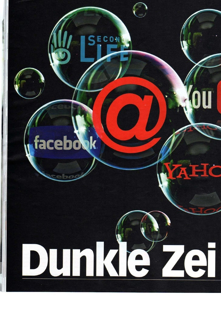 Dunkle Zeiten Für Web 2.0