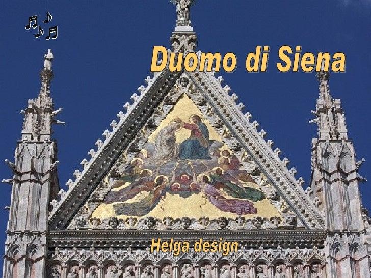 Helga design Duomo di Siena