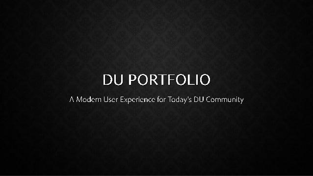Portfolio System Overview