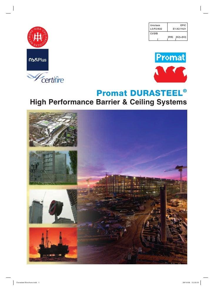 Durasteel brochure v24