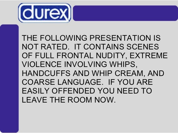 <ul><li>THE FOLLOWING PRESENTATION IS NOT RATED.  IT CONTAINS SCENES OF FULL FRONTAL NUDITY, EXTREME VIOLENCE INVOLVING WH...