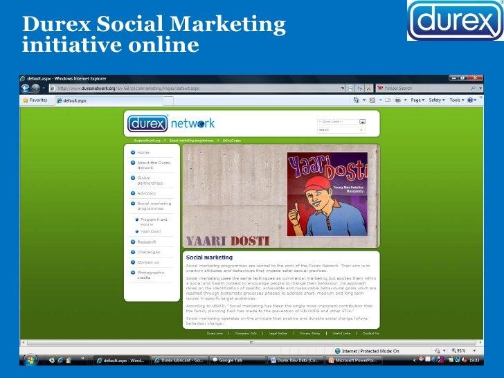 Durex Marketing Plan Essay